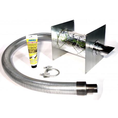 Система отвода выхлопных газов для генераторов