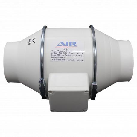 Вентилятор канальный пластиковый AIR  HF-100