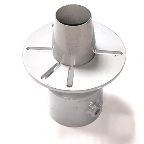 Переходник генератор-металлорукав конусный  27мм-33мм