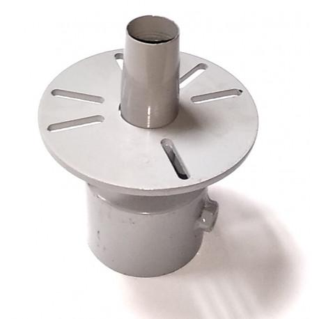 Переходник генератор-металлорукав конусный  17мм-21мм